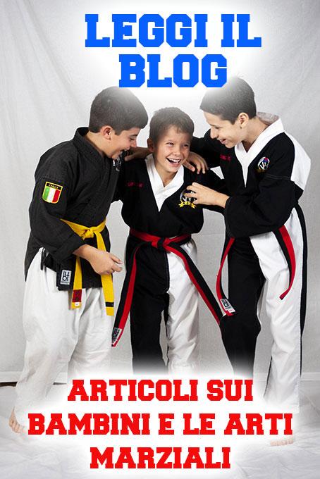 blog arti marziali bambini roma