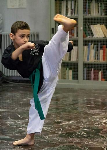 arti marziali bambino roma